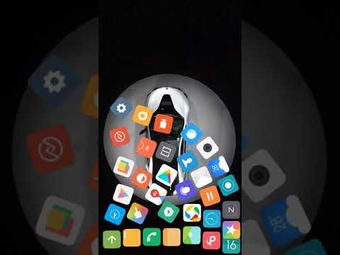 Vídeo do rolando o ícone do aplicativo