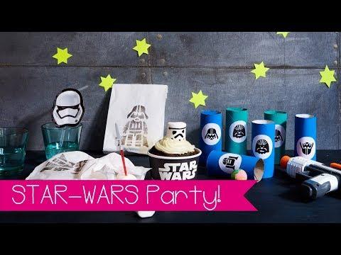 Star Wars Party I DIY I Selber machen I Kindergeburtstag I Basteln