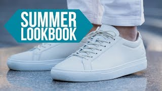 6 Stylish Casual Outfits For Summer || Mens Style Lookbook 2018 || Gents Lounge