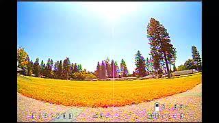 2nd flight FPV Raw analog video