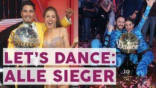 Alle Let's Dance Gewinner: Diese Promis Haben Bisher Am Besten Getanzt   STARS