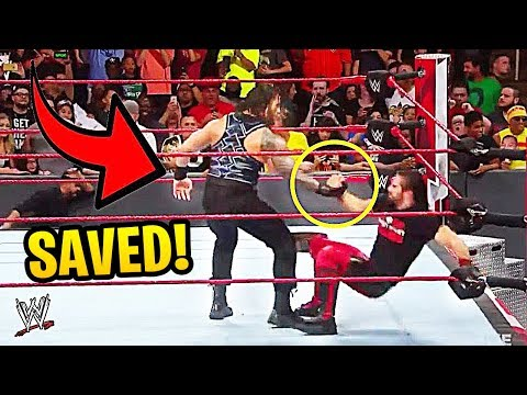 10 WWE Superstars Who SAVED Each Other In Matches!
