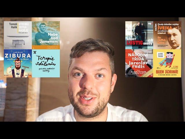 Doporučení na 8 mých nejoblíbenějších českých audioknih