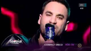 """Compact Disco """"Sound of our hearts"""" Hungary - Eurovision Song Contest 2012."""