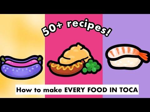 Как приготовить каждую еду 🍱 в Toca Life World! | 50+ рецептов . (2020)