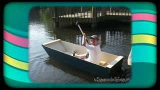 Складные лодки из фанеры чертежи