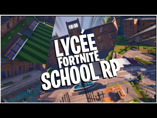 School RP Fortnite
