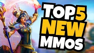 TOP 5 NEW MMOs Coming in 2019!