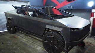 Tesla Cybertruck Своими руками. Часть 2. Бампера, силовой каркас.