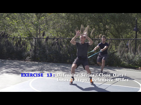 Defensive Series - Close Outs, Lateral Steps and Defensive Slides