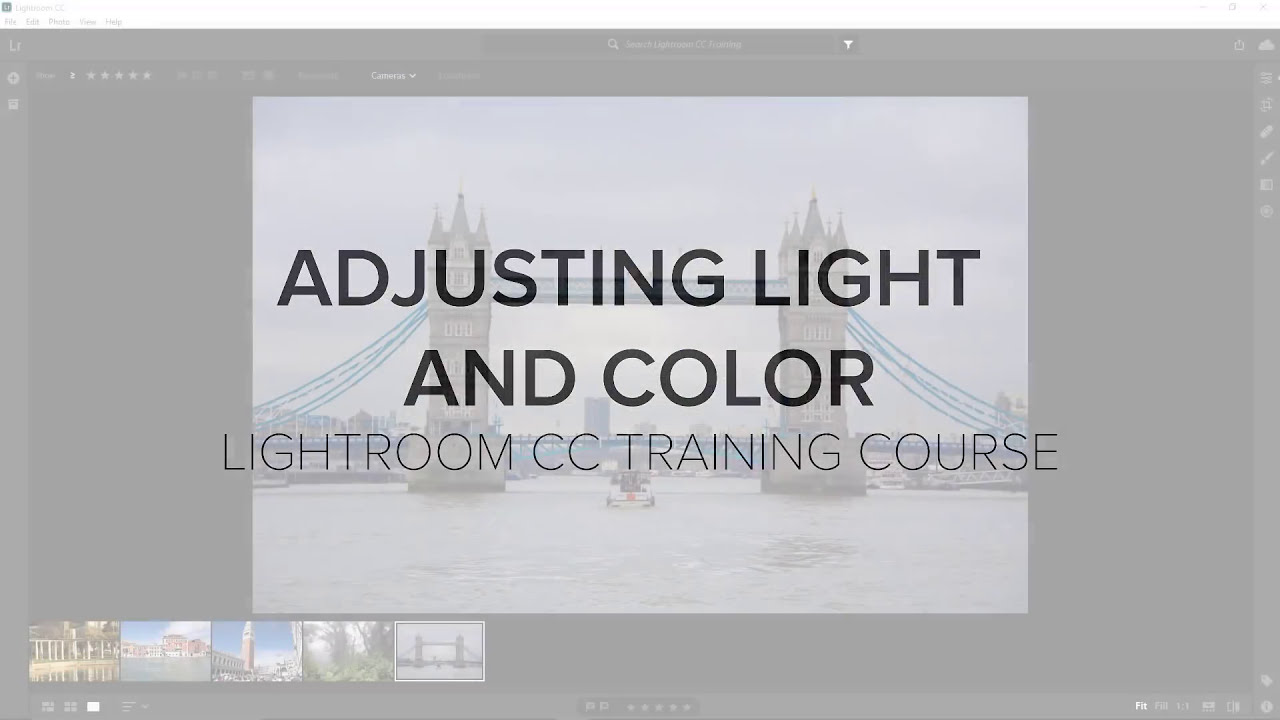 adobe lightroom cc for beginners by photoshop training channel
