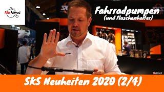 SKS Neuheiten 2020 (2/4) Fahrradpumpen für unterwegs und zuhause | Alles Fahrrad