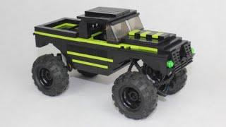 Lego Technic KAMAZ 43118 flatbed truck with SBrick