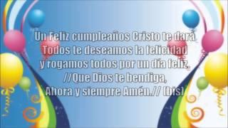Un feliz cumpleaños Cristo te dará (Letra) Música Cristiana