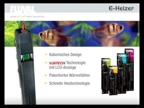 FLUVAL E Serie Elektronikheizer