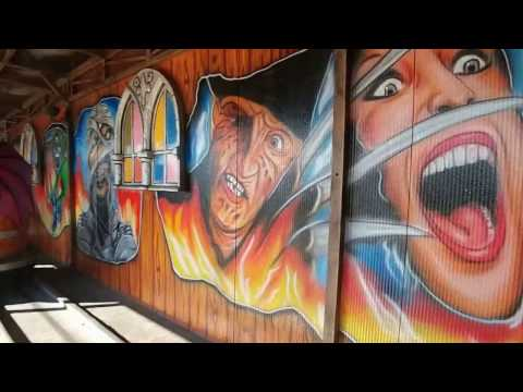 Lunaparkta korku tüneli ve ahtapot hızlı atraksiyonlar, eğlenceli çocuk videosu
