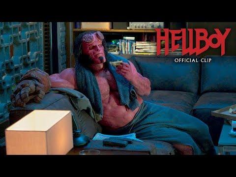 "Hellboy (2019 Movie) Official Clip ""Osiris Club"" – David Harbour, Ian McShane"
