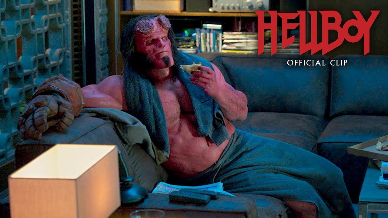 "Video trailer för Hellboy (2019 Movie) Official Clip ""Osiris Club"" – David Harbour, Ian McShane"