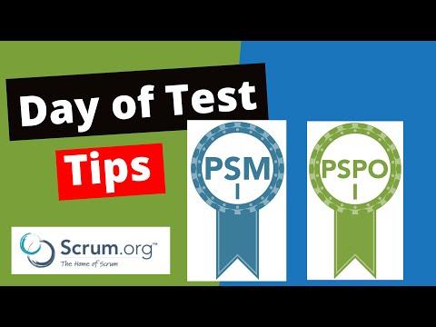 Scrum PSM 1 | PSPO 1 Certification - Preparation, Exam Experience ...