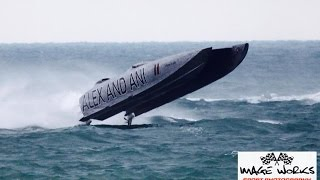 Offshore Racing Three Walls of Water Jimmy Cazzani Alex And Ani Super Boat Unlimited