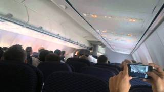 Pillow Fight on an Airplane