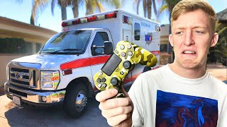 Winning Fortnite in Ambulance Challenge
