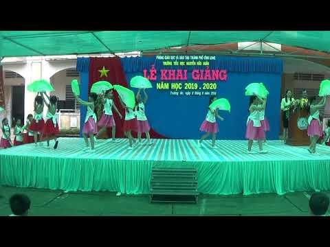 [Múa quạt] Hoa học trò - Nhóm năng khiếu - TH Nguyễn Hữu Huân