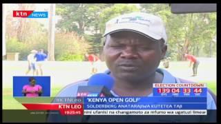 Mchezaji wa gofu Dismas Indiza asema huenda Mkenya akatwaa taji la Kenya Open