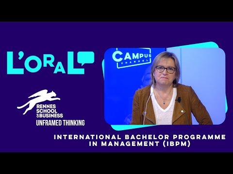 L'oral : Bachelor Rennes School of Business. Diplôme de gestion et de management des entreprises