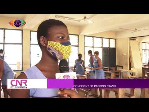 Some WASSCE candidates in Accra confident that they will pass the final exam | Citi Newsroom