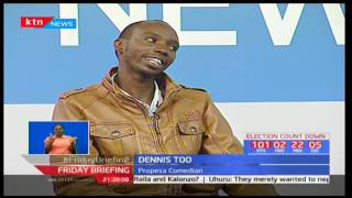 Propesa Comedians on Friday Briefing rib cracking Betty 'Chepchumba' Kyalo : Friday Briefing Part 2