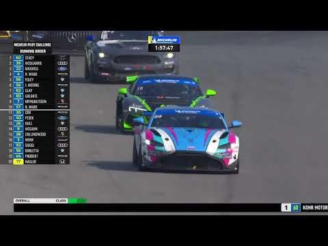 IMSA WTSCミド・オハイオ。120 レース2のフルレース動画