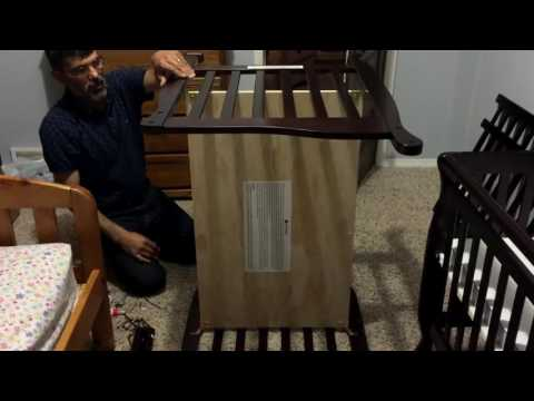 DREAM ON ME CONVERTIBLE CRIB ASSEMBLY REVIEW