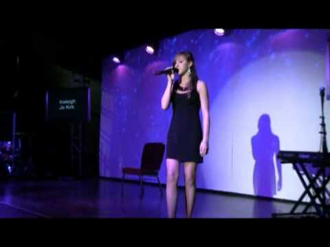 "Kaleigh Jo Kirk-  Just a Dream by Carrie Underwood ""Cover"" 2012"