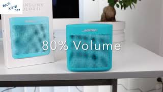 Bose Soundlink Color 2 Soundtest