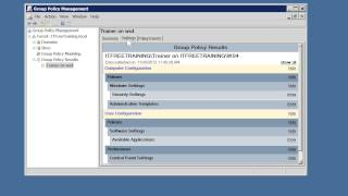 MCITP 70-640: Troubleshooting Group Policy