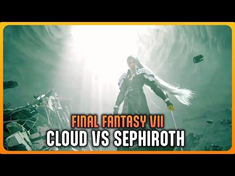 FINAL FANTASY VII Remake - Cloud vs Sephiroth Final Boss Fight