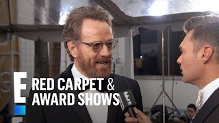 Bryan Cranston Gets Starstruck At 2017 Golden Globes  E Live From The Red Carpet