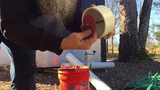 How To Make The 4 Inch PVC Bailer Bucket For A 6 Inch Well