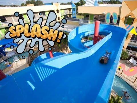 Juegos para niños TOBOGAN de AGUA GIGANTE/ Jugando en Parque de Agua/ WATER SLIDE Videos Infantiles