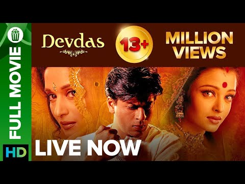 Download Devdas | Full Movie Live On Eros Now | Shah rukh Khan, Aishwarya Rai, Madhuri Dixit & Jackie Shroff HD Mp4 3GP Video and MP3
