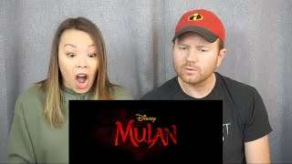 Mulan Official Trailer Reaction Review