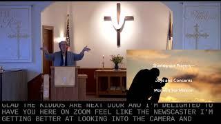 Worship in Church – 4/25/2021