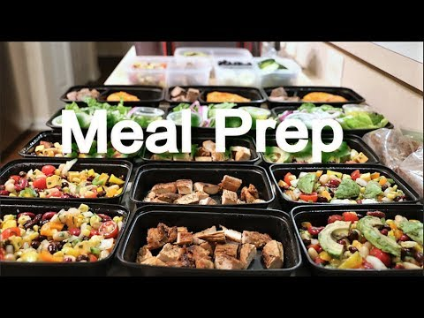 Meal Prep For Weight Loss - Breakfast, Lunch, Dinner, and Snacks - 1600-1700 Calories