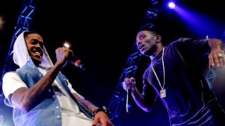 Krept & Konan - Don't Waste My Time, feat Yungen, Fekky, Chip and Wretch 32 at 1Xtra Live 2014