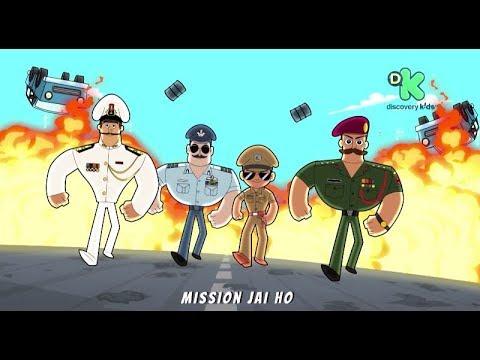 New Music Video | Little Singham Desh Ka Sipaahi – Mission Jai Ho | 26th January at 11.30 am