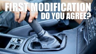 The First Mod For Your Manual Car