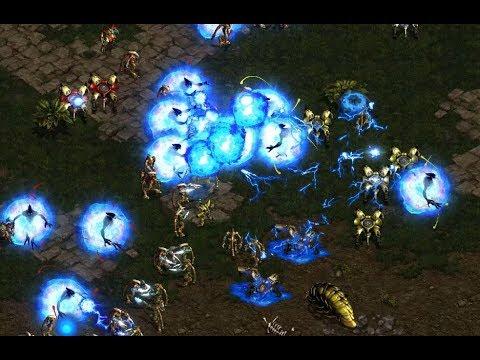 Shuttle (P) v Tyson (P) on Fighting Spirit - StarCraft  - Brood War REMASTERED