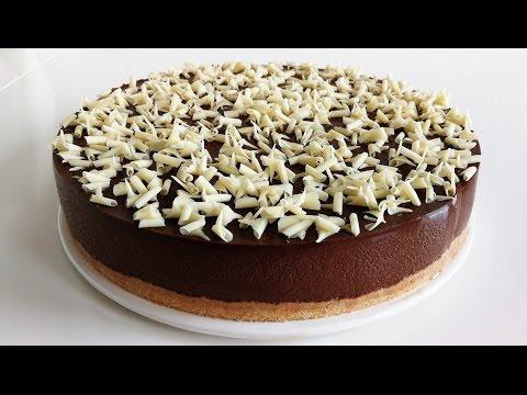 Tarta de chocolate facil SIN HORNO Postres Mil