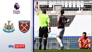 Kuriose Tore! Hammers patzen im CL-Rennen | Newcastle - West Ham 3:2 | Highlights - Premier League